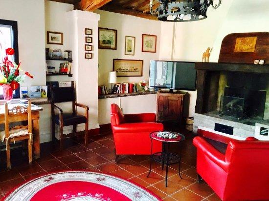 Verucchio, İtalya: salotto