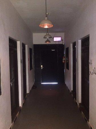 Anjuna, Indie: Entrance