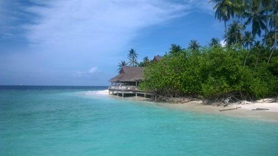 Malahini Kuda Bandos: небольшой остров