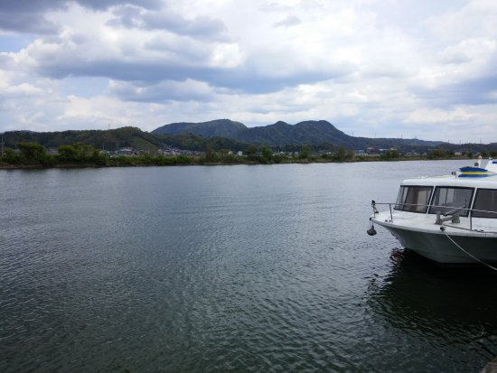 Pleasure Boat at Lake Shinji- The Hakucho