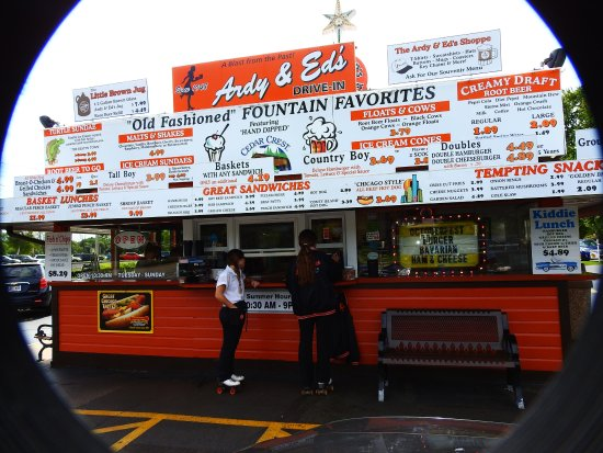 Oshkosh, WI: Front of Ardy & Ed's Drive In by Ken Groezinger