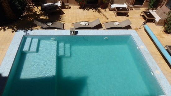 Auberge Bagdad Cafe: petite piscine