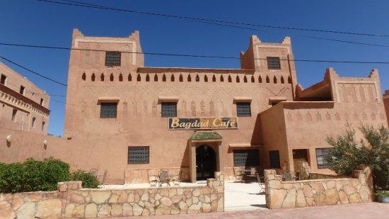 Auberge Bagdad Cafe: la façade