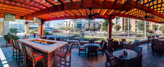 Llubbock, TX: Outdoor Dining + Lounge with firepits