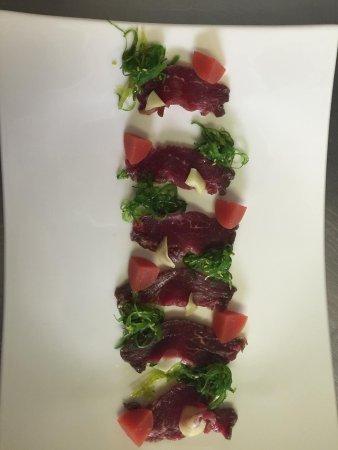 La Brentaz: Sashimi de Boeuf