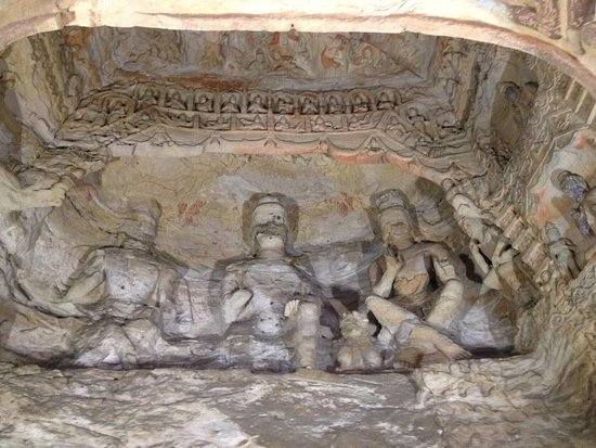 Datong, China: Yungang Grottoes