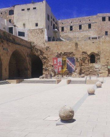Acre, Israel: Внутренний двор