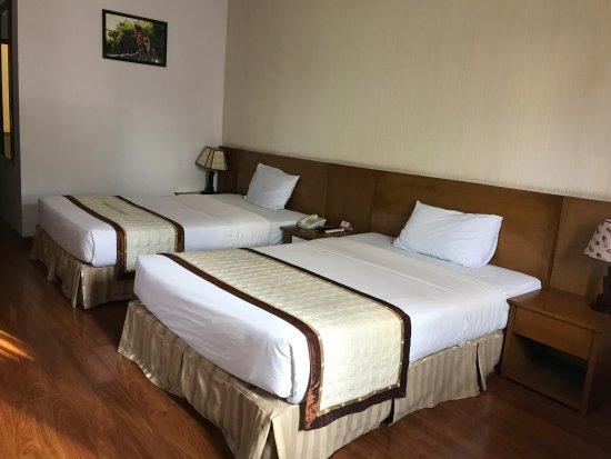 Saigon Cantho Hotel: ruime bedden