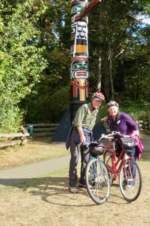The Pedaler: The bikes were so easy to handle and comfortable