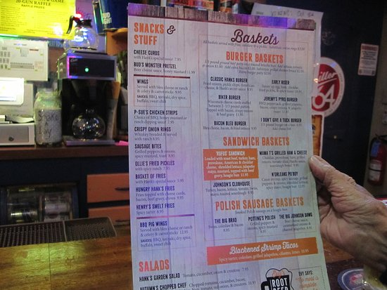 New Richmond, WI: Menu