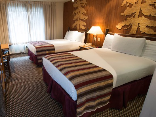 Lakeside Inn and Casino: Double Bed Room