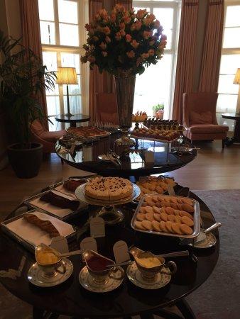 Belmond Mount Nelson Hotel: Trevligt Afternoon Tea