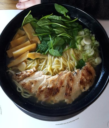 Wagamama Wellington: Chicken ramen