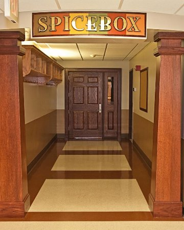Urbana, IL: Second floor entry way to The Spice Box