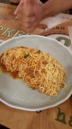 Tustin, CA: Spaghetti Bolognese