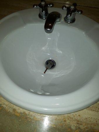 West Plaza Hotel Suite: lavamanos de la otra habitacion
