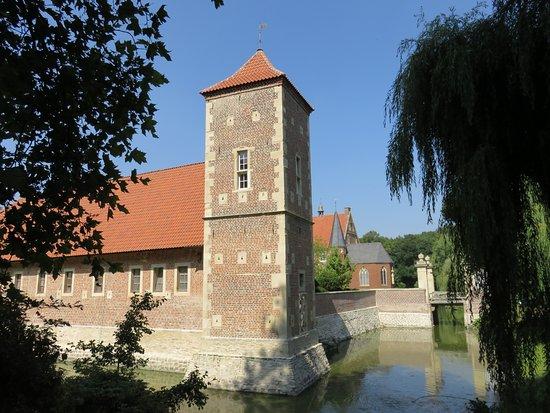 Havixbeck, Tyskland: Burg Hulshoff voorburcht