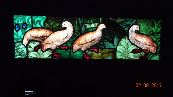 Museo Nacional de la Edad Media - Termas y Hotel Cluny: stained glass window