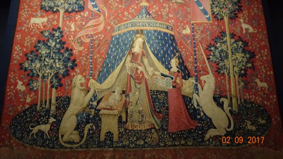Museo Nacional de la Edad Media - Termas y Hotel Cluny: Lady and the Unicorn