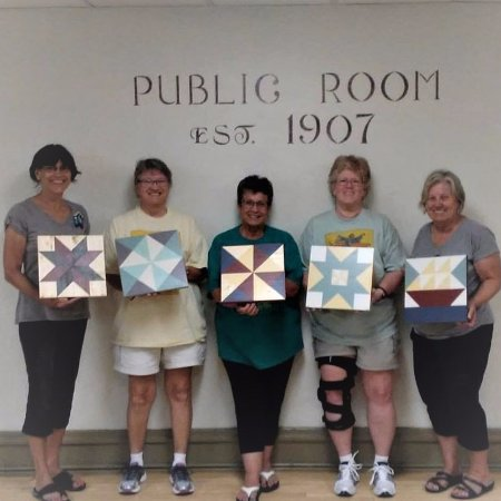 The Vintage Flip: Barn Quilt Workshop