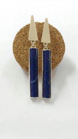 Ateliê Lápis-lazuli: PINGENTE COM LAPIS LAZULLI - Whatssapp: (12) 99704-5221