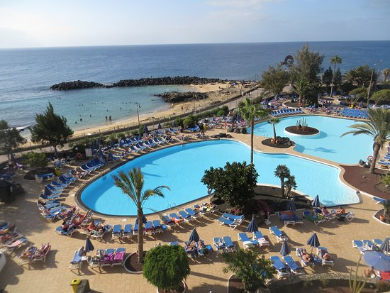 Hotel Grand Teguise Playa: View from room