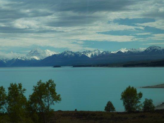Canterbury Region, Nueva Zelanda: Vista del Lago Pukaki