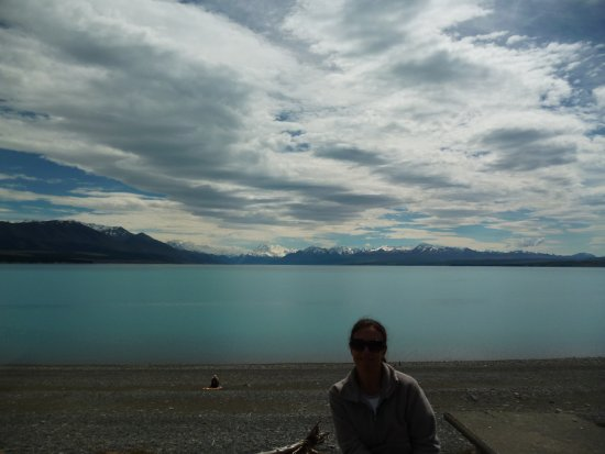 Lake Pukaki : Vista del Lago Pukaki