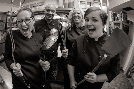 Karlskron, Německo: Einblick in die Küche