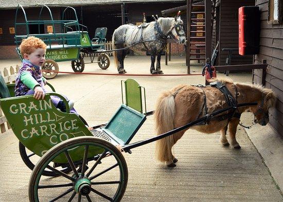 Verwood, UK: Big cart and small cart!
