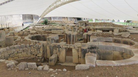 Tarxien Temples : Tarxien Temple 3150 BC