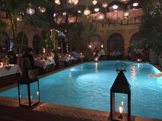 La Trattoria Marrakech: Pool side