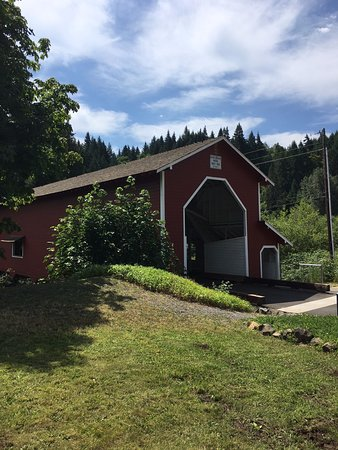 Westfir, OR: Longest covered bridge in Oregon.