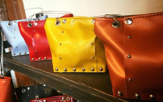Solana Beach, CA: Handcrafted Statement Hand Bags