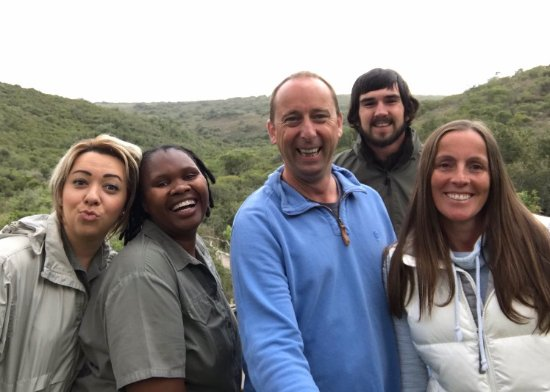 Lalibela Game Reserve: The lovely staff