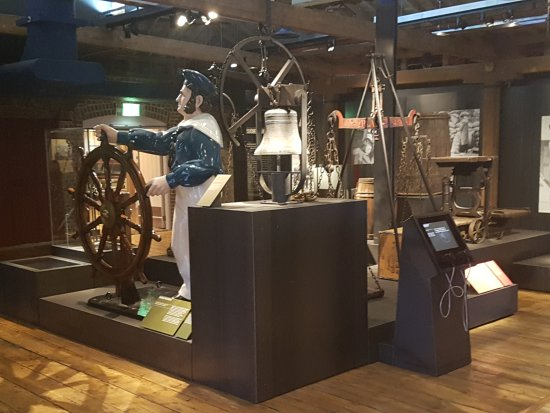 D Exhibition Docklands : Museum of london dockland billede af