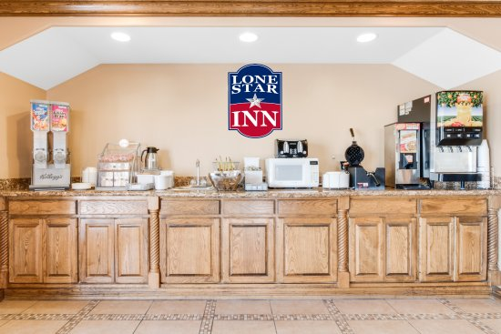 San Benito, Teksas: Free Breakfast