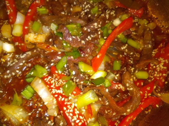 Rio Rancho, NM: Special event food item. Korean BBQ beef