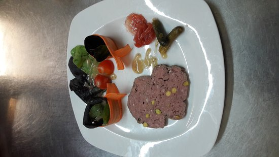 Doubs, France : Terrine de gibier