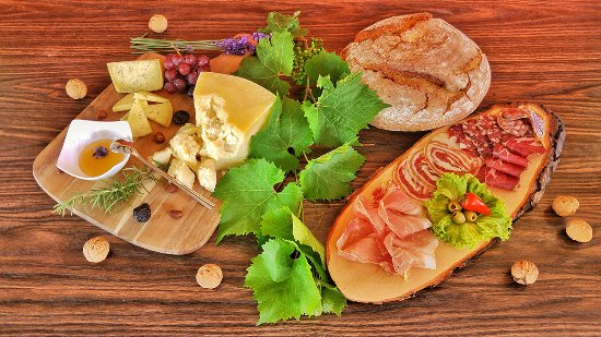 Podgrad, Slovenia: Cured meat products and cheeses