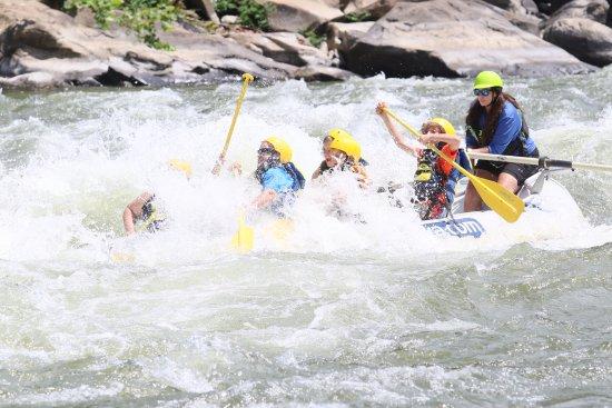 Glen Jean, Virginie-Occidentale : White Water Rafting at West Virginia Adventures