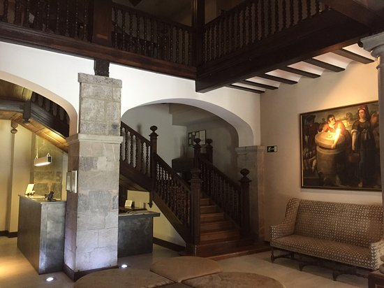 Iriarte Jauregia Hotel: Recepción