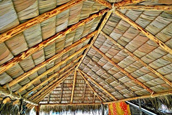 """Todos Santos, Mexico:  Palapa with roof style """"Vallarta"""""""