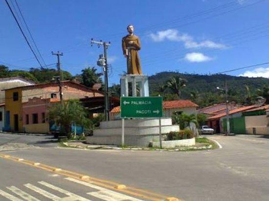 Palmacia: Estátua de São Francisco de Assis