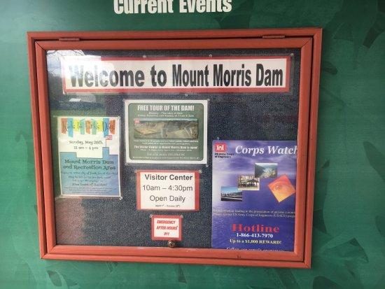 Mount Morris Dam Picture