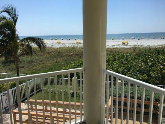 Foto De Sunset Vistas Beachfront Suites Treasure Island View From 201w Oceanfront 2 Bedroom