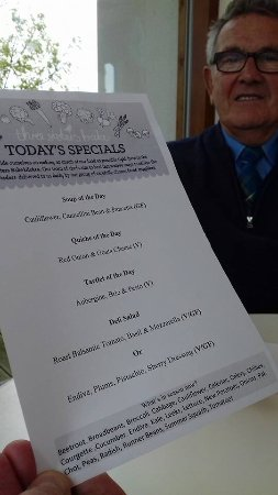 Killearn, UK: Lunch menu