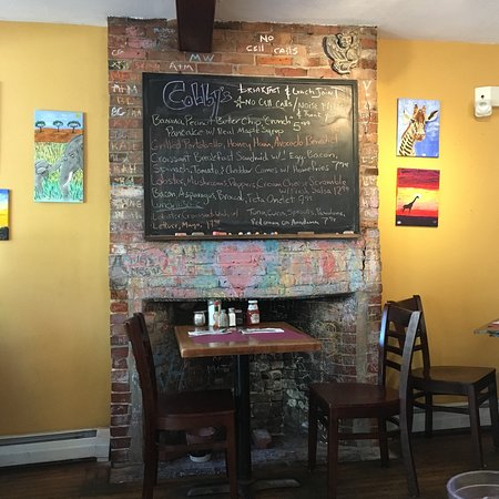 colbys breakfast lunch - Breakfast House Restaurant Wall Designs