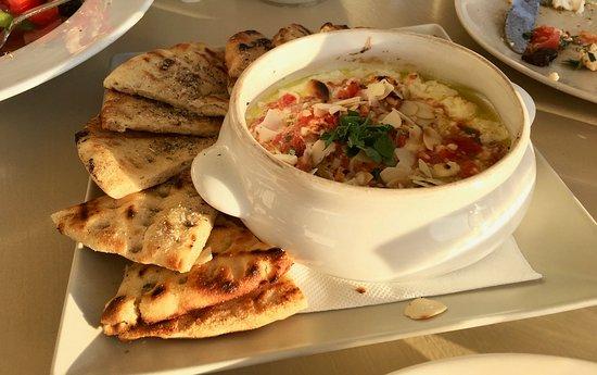 Katharos Lounge : Baked Feta Dip