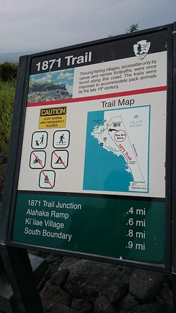 Honaunau, Havaí: 標識アップ